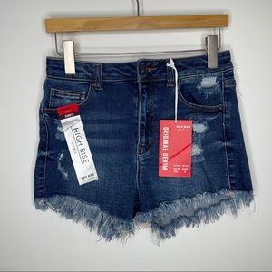 🎁4/20$🎁 NWT Wax jeans high waisted shorts